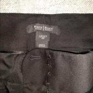 WHBM legacy black tuxedo pant